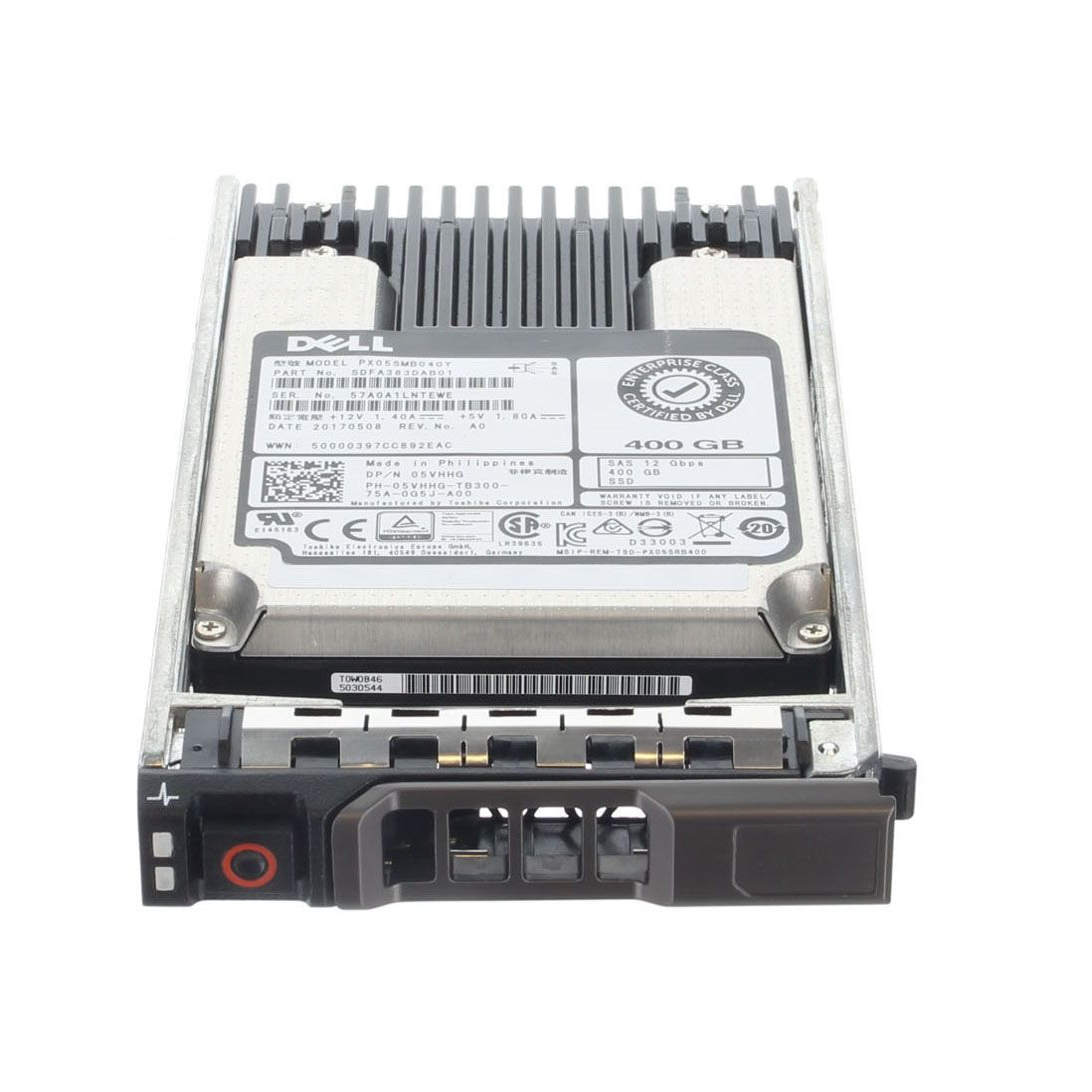 5VHHG 400GB SAS SSD