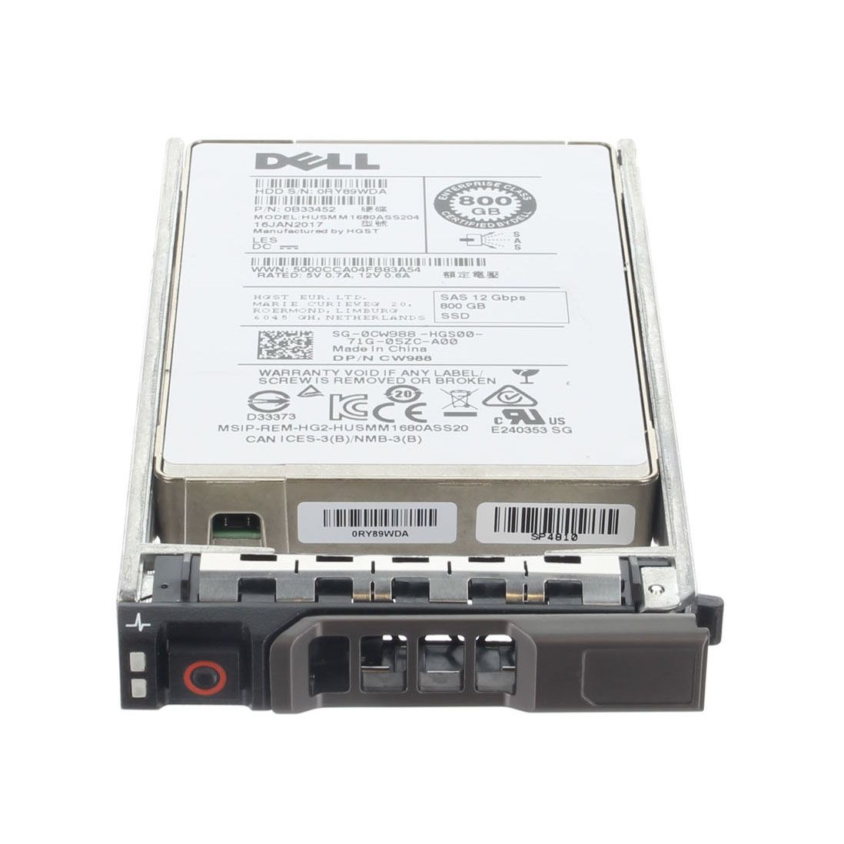 CW988 800GB SAS SSD