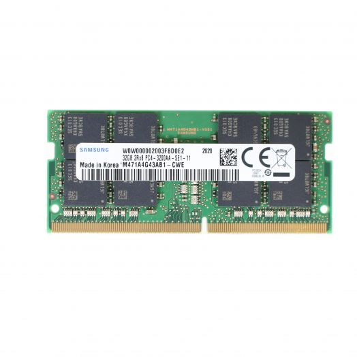 SAM 32GB PC43200AA_S